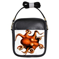 Cephalopoda Of The Hawaiian Islands Girls Sling Bag from Manda s Macabre Front