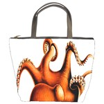 Cephalopoda Of The Hawaiian Islands Bucket Bag from Manda s Macabre Front