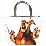 Cephalopoda Of The Hawaiian Islands Bucket Bag from Manda s Macabre Back