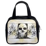 Death Flowers Classic Handbag (Two Sides)