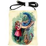 Vintage Alice In Wonderland Shoulder Sling Bag