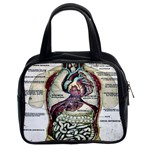 French Anatomy Classic Handbag (Two Sides)