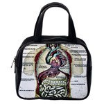 French Anatomy Classic Handbag (Two Sides) from Manda s Macabre Back