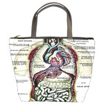 French Anatomy Bucket Bag from Manda s Macabre Front