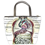 French Anatomy Bucket Bag from Manda s Macabre Back
