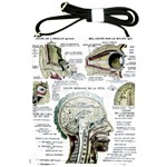 French Anatomy Shoulder Sling Bag