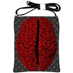 Vintage Brain Shoulder Sling Bag