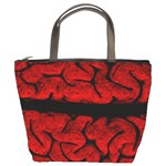 Vintage Brain Bucket Bag