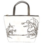 Alice Down The Rabbit Hole Bucket Bag