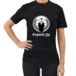 Anonymous Women s Black T-Shirt