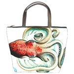 Octopus Die Cephalopod 1915 Bucket Bag