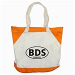 BDS - Barbados Euro Oval Accent Tote Bag