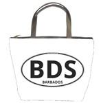 BDS - Barbados Euro Oval Bucket Bag