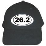 26.2 Marathoner Oval Black Cap