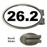 26.2 Marathoner Oval Money Clip (Oval)