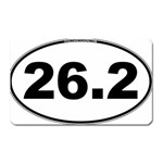 26.2 Marathoner Oval Magnet (Rectangular)