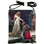 Accolade by Edmund Blair Leighton Shoulder Sling Bag