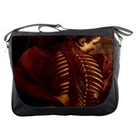 Female Anatomy Back Messenger Bag