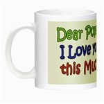 I love you this much Poppa Night Luminous Mug