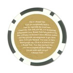 A Round Tuit Poker Chip