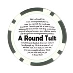 Round Tuit Poker Chip