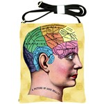 Phrenology Shoulder Sling Bag