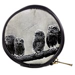 Screech Owl Babies Mini Makeup Bag