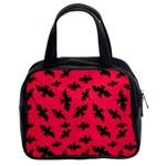 Bats Pink Classic Handbag (Two Sides)