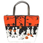 Halloween Vintage Bucket Bag