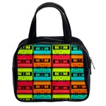 Cassette Tape Classic Handbag (Two Sides)