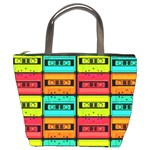 Cassette Tape Bucket Bag