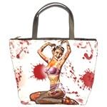 Zombie Pin Up Bucket Bag