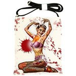 Zombie Pin Up Shoulder Sling Bag