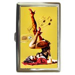 Zombie Pin Up Cigarette Money Case