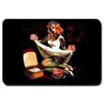 Zombie Pin Up Large Doormat