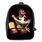 Zombie Pin Up School Bag (Large)