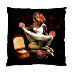 Zombie Pin Up Cushion Case (Two Sides)