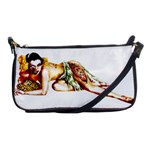 Zombie Pin Up Shoulder Clutch Bag