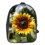 Sun Flowers School Bag (Large)