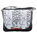 Palmistry Messenger Bag