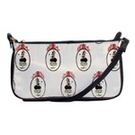 Female Eye Shoulder Clutch Bag