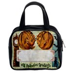 Kissing Pumpkins Classic Handbag (Two Sides)