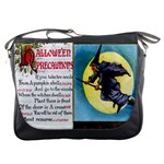 Hallowe en Precautions  Messenger Bag
