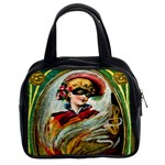Vintage Halloween Card Classic Handbag (Two Sides)