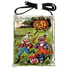 Halloween Chase  Shoulder Sling Bag from Manda s Macabre Front