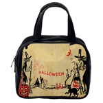 Halloween Witches Classic Handbag (Two Sides) from Manda s Macabre Back