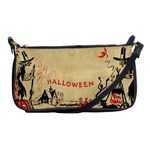Halloween Witches Shoulder Clutch Bag