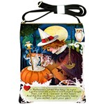 Let The Witch Mix A Charm  Shoulder Sling Bag