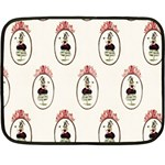 The Female Eye Mini Fleece Blanket(Two Sides)