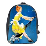 Halloween Vintage School Bag (Large)